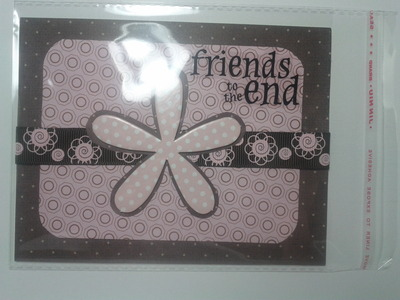 Friends to the End Greeting Card