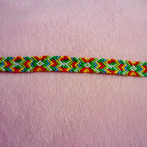 Crazy Braided Friendship Bracelet