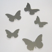 Objectify Butterfly Mirror Set