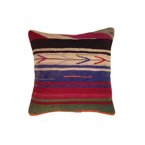 "16"" TURKISH KILIM PILLOW #6"
