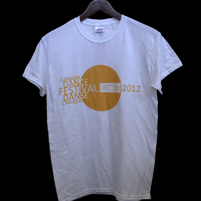 2012 canada dance festival adult unisex t-shirts