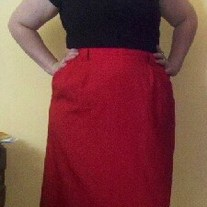 Requirements Vintage Red Skirt 20W