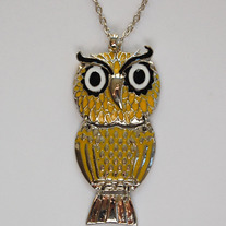 CLEARANCE-Yellow owl - Thumbnail 1