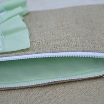 Fold-over Clutch {Mint}