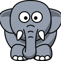 Cartoon-elephant-baby-picture