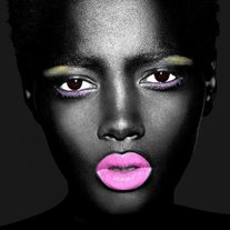 Artistic-black-girl-fashion-makeup-model-favim.com-196959