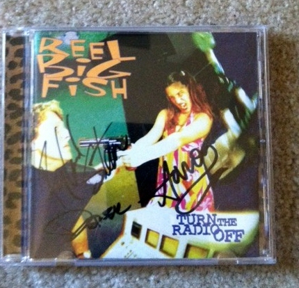 Reel Big Fish autographed CD sold by In the Key of Change