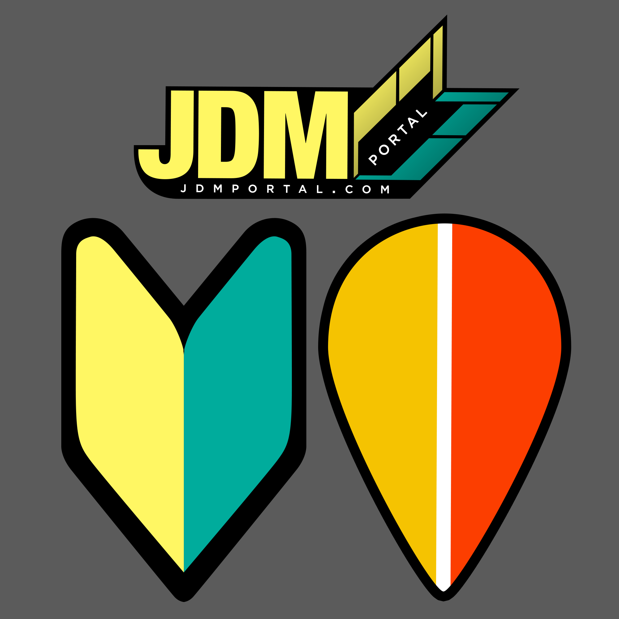 Jdm Portal Sticker Sheet On Storenvy