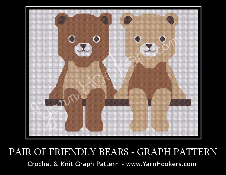 Baby blankets with teddy bear - Knitting Patterns | 571x737
