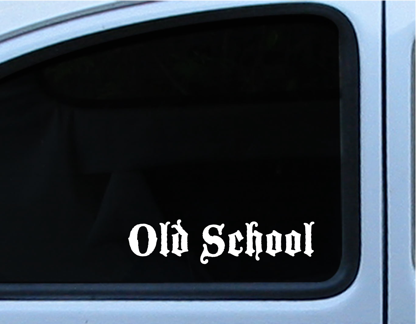Old School Old English Vinyl Decal Logo 8 5 Quot Vw Chevy Ford