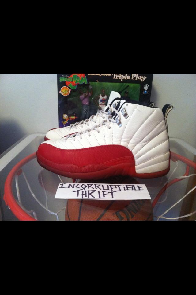 05fbf3d1c377f9 Original Air Jordan Cherry 12s size 11.5 · Incorruptible Thrift Shop ...
