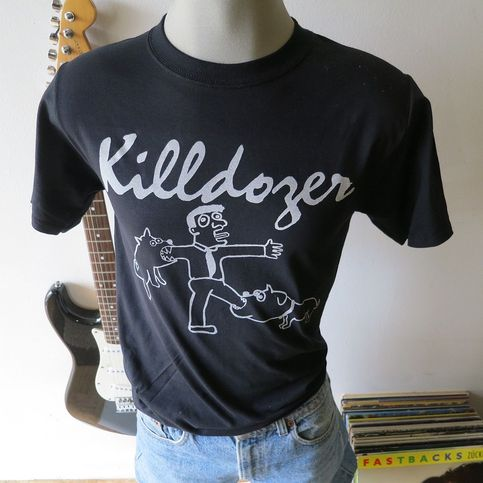 Killdozer Tee T Shirt Screen Print Short Sleeve Kildozer
