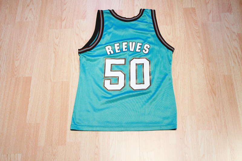 best service d8cda b88f3 Bryant Reeves Grizzlies Jersey from SLAM! Vintage