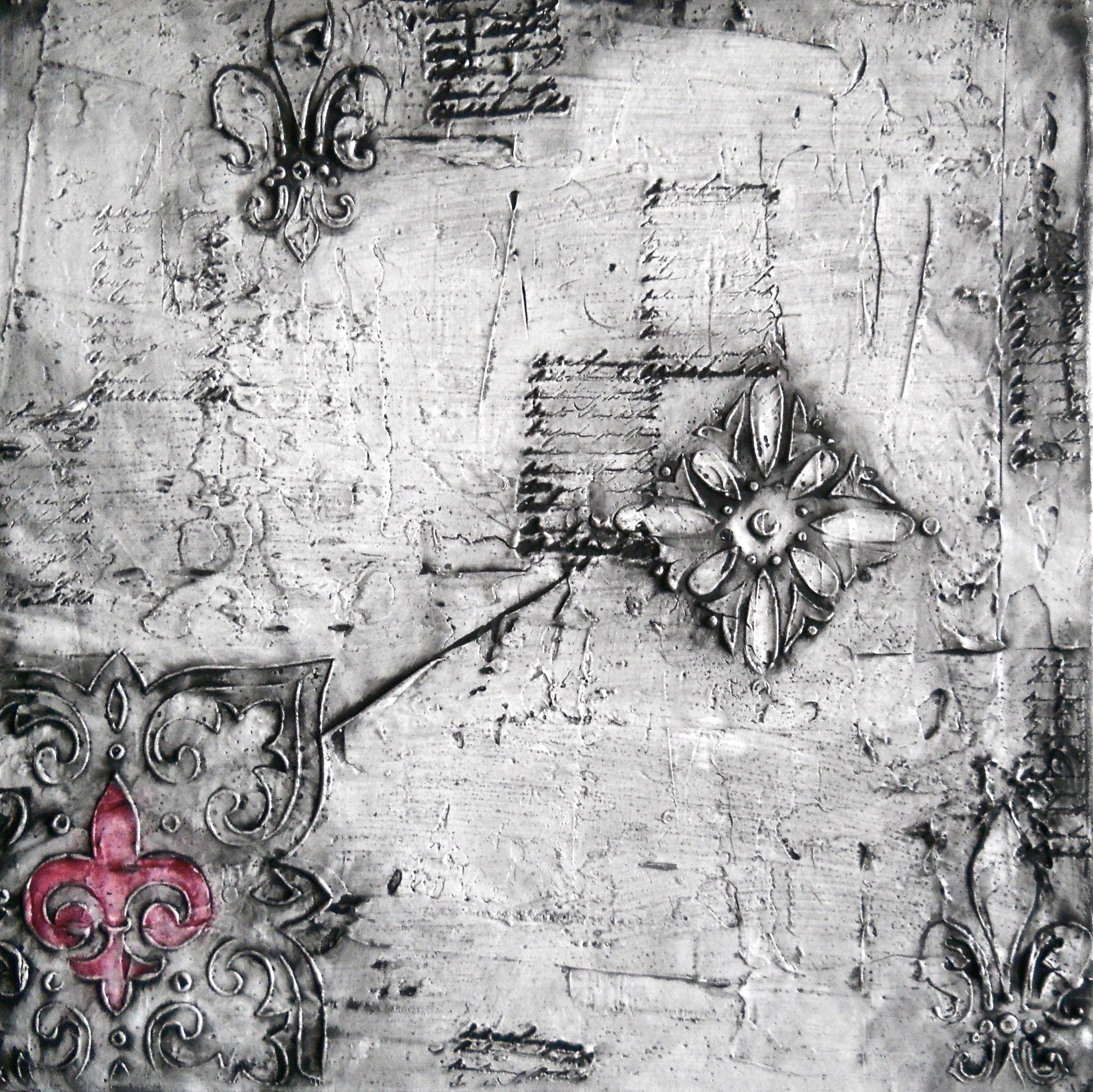 Textured Series III Abstract Art Original Painting Textured Mixed