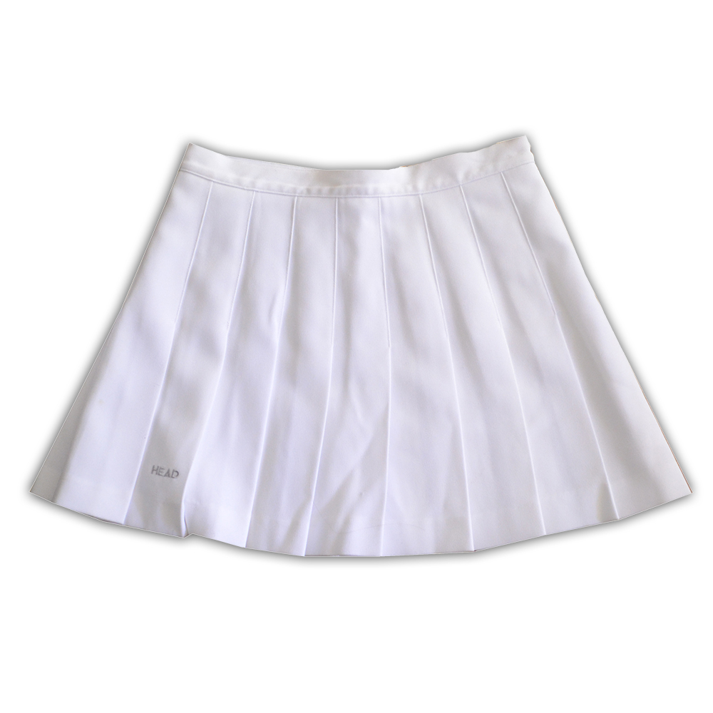 White Pleated Tennis Skirt SZ 8 on Storenvy