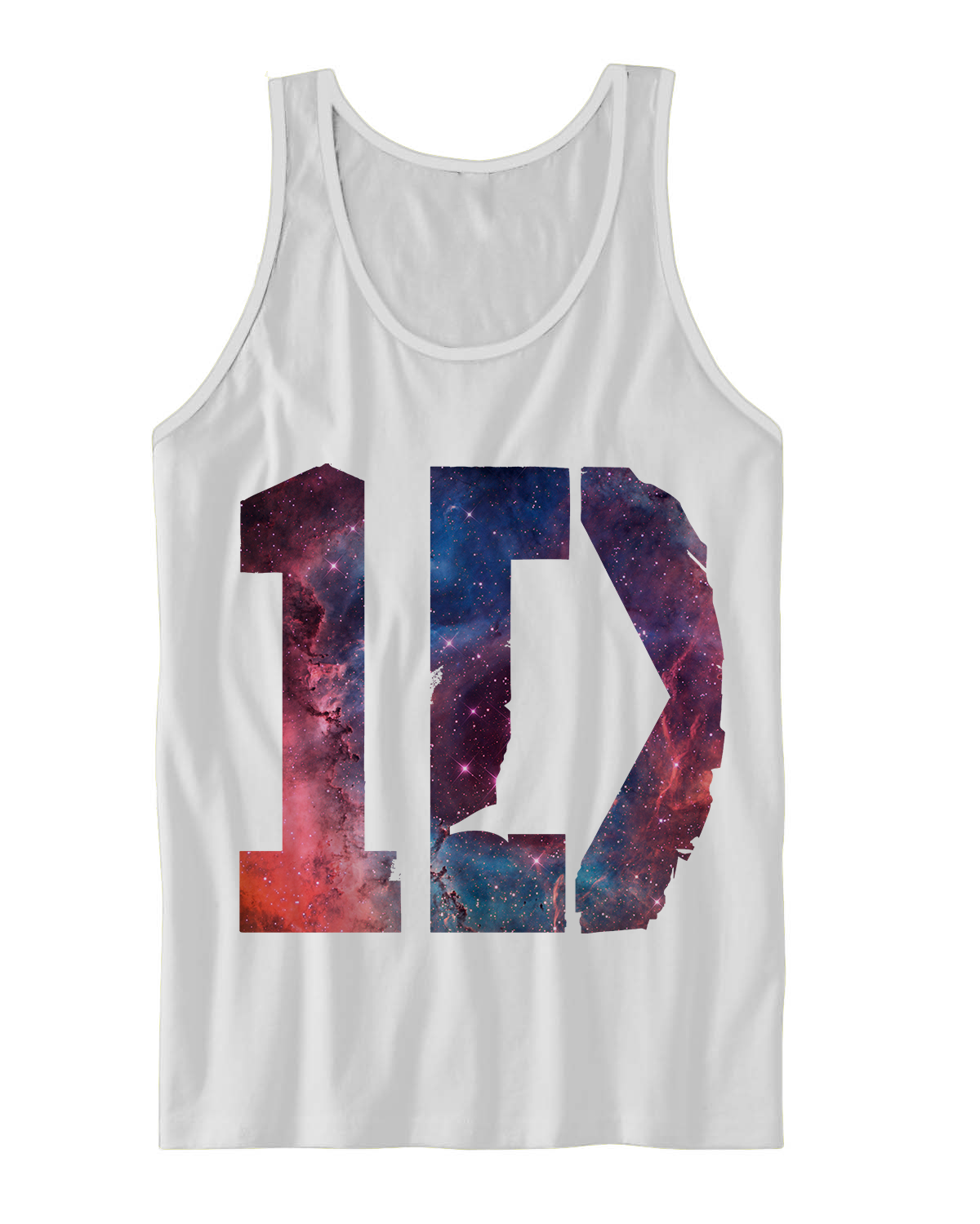 ONE DIRECTION GALAXY TANK TOP 1D SHIRTS ONE DIRECTION SHIRTS ONE ...