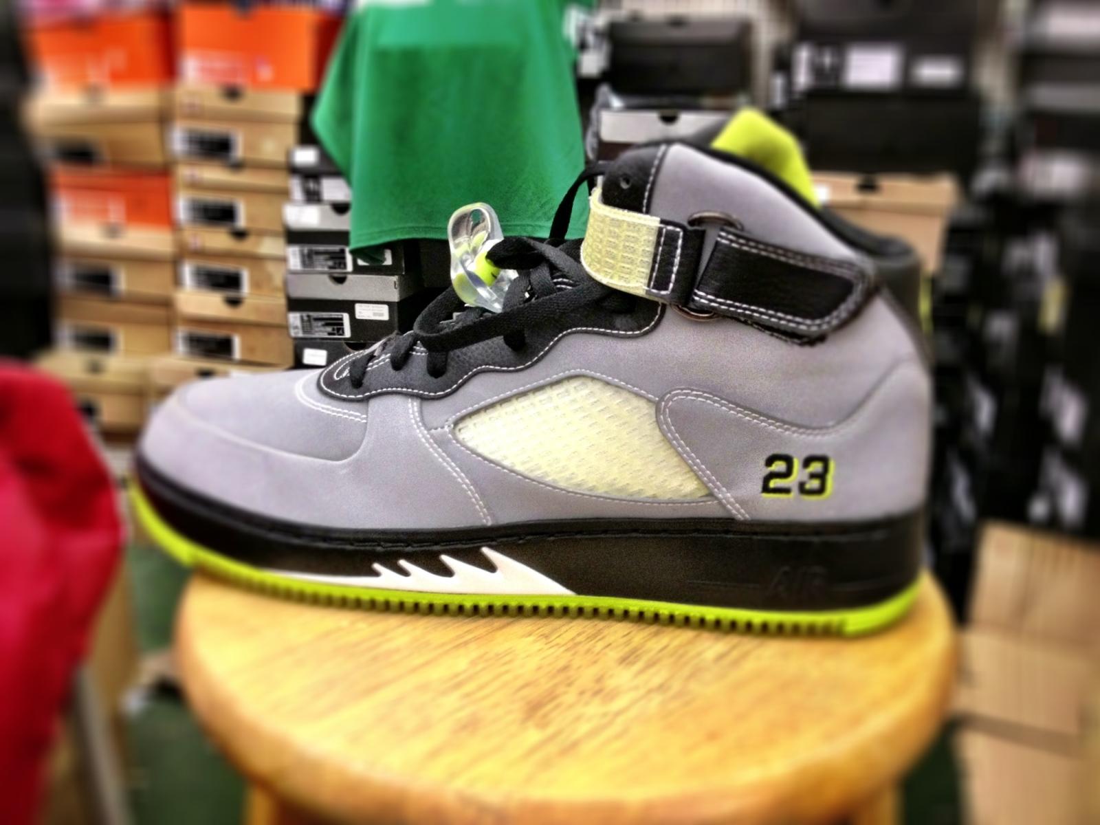 Air Jordan 5 and Air Force 1 Fusion