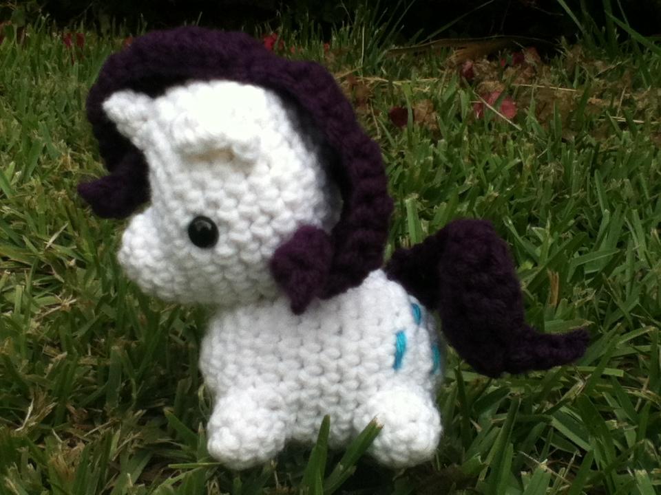 Crafted Cuteness Rarity My Little Pony Crochet Plush Online