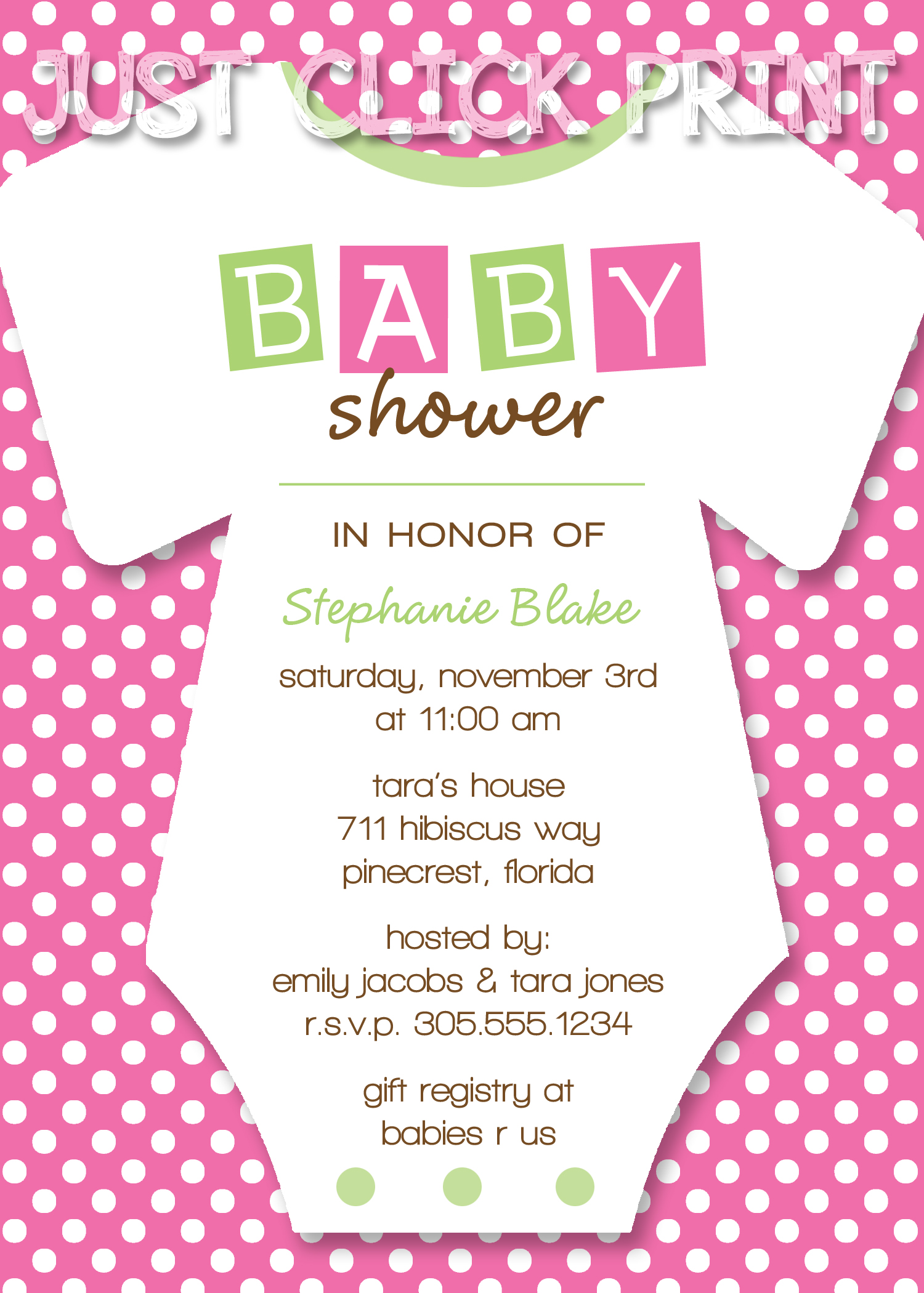 This is a picture of Printable Onesie Baby Shower Invitations with regard to custom painted onesie