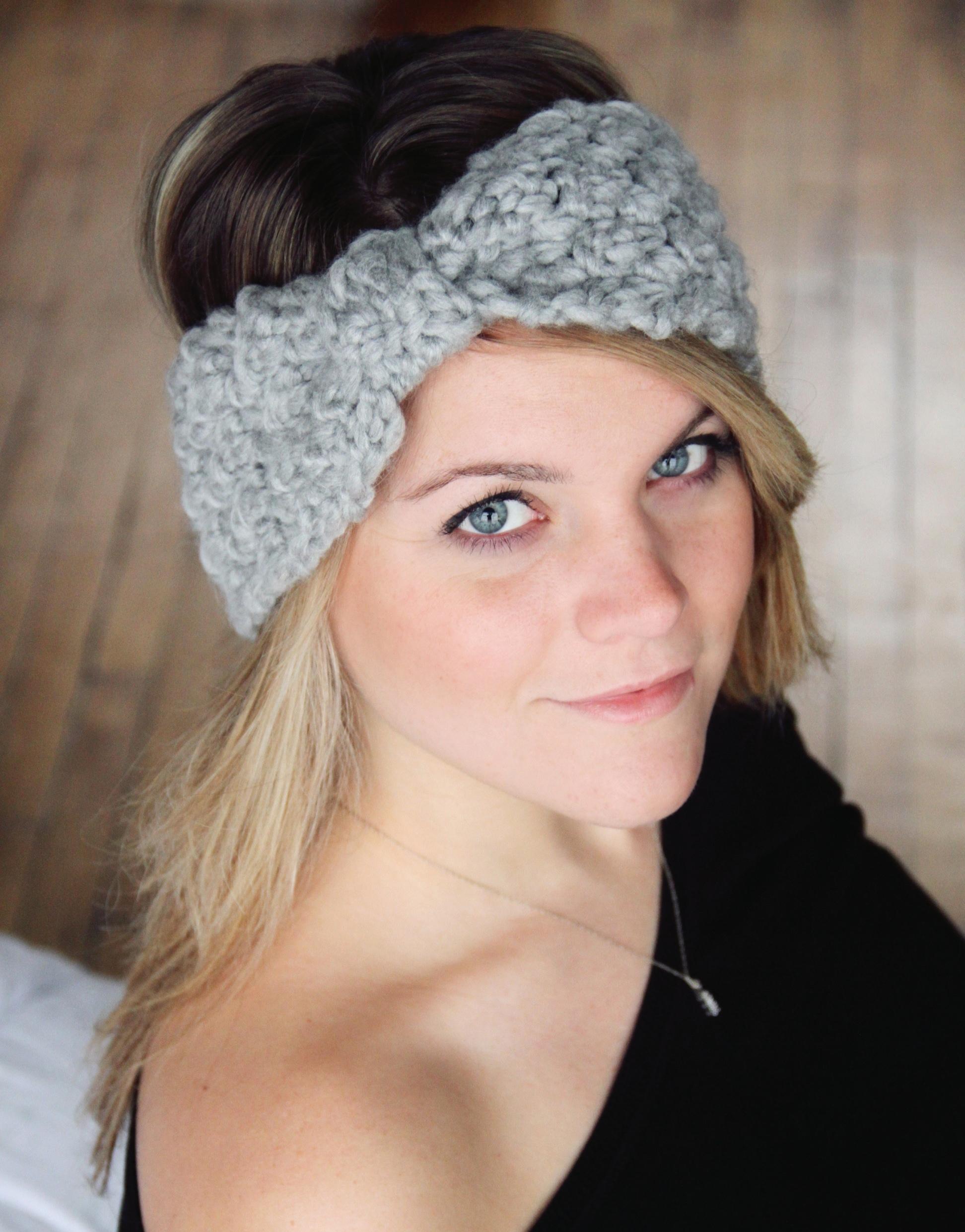 Headband Crochet Pattern Hat Beginner The Pamela On Storenvy