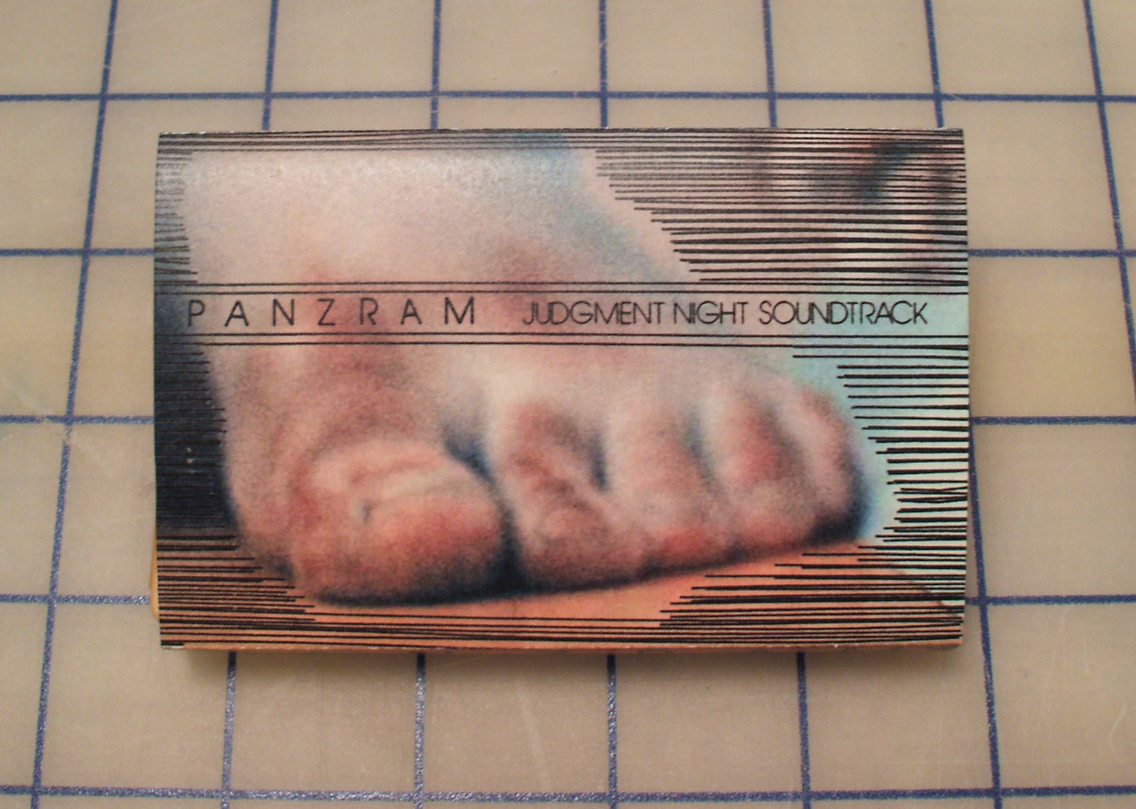 PANZRAM - Judgment Night Soundtrack - Tape from Seven Inches To Freedom Zine