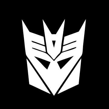 Pirateghost Decepticon Sticker