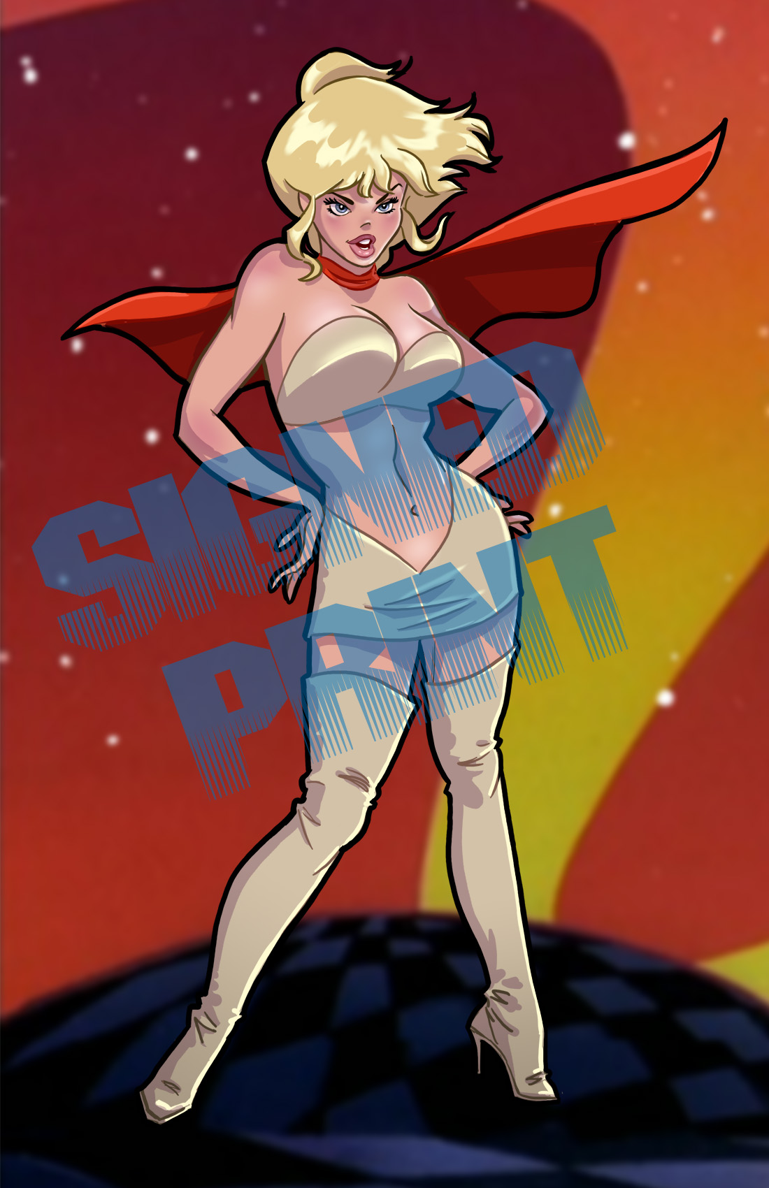 Super Holli Would From The Art Of Steven E Gordon