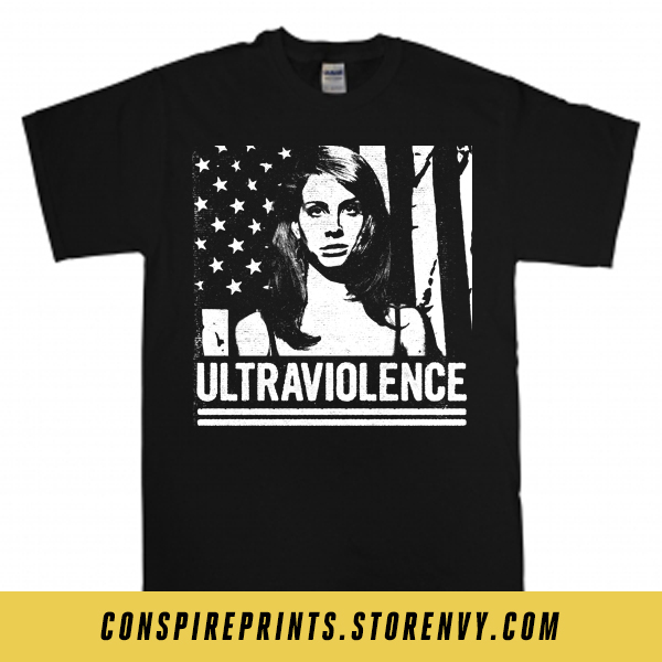 Lana Del Rey Ultraviolence Powerviolence Shirt Infest Conspire Prints Online Store Powered By Storenvy