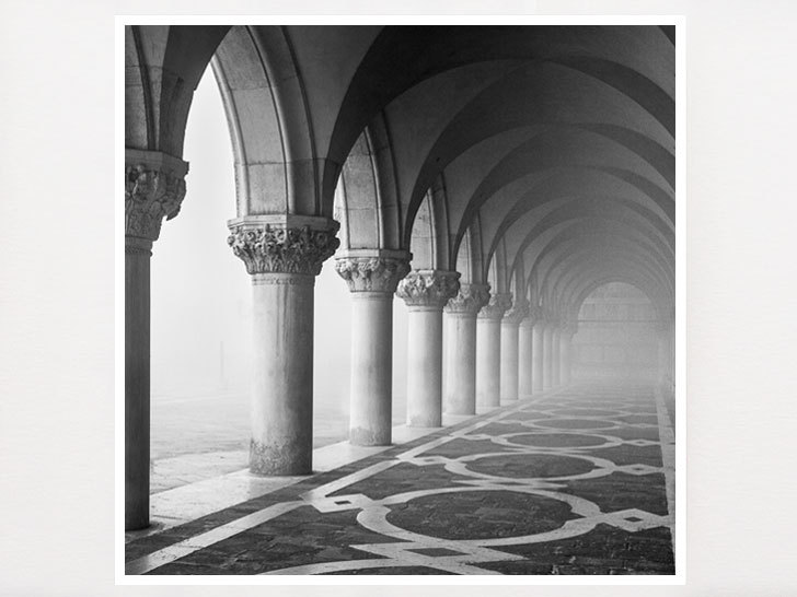 Black and white photography classic venice save 20 5x5 inches thumbnail