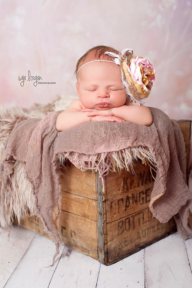 Burlap blush pink gold and cream newborn photography prop 3dc736cb2d3