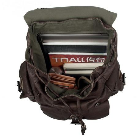 Best distressed pigskin leather weekender backpack unisex on Storenvy