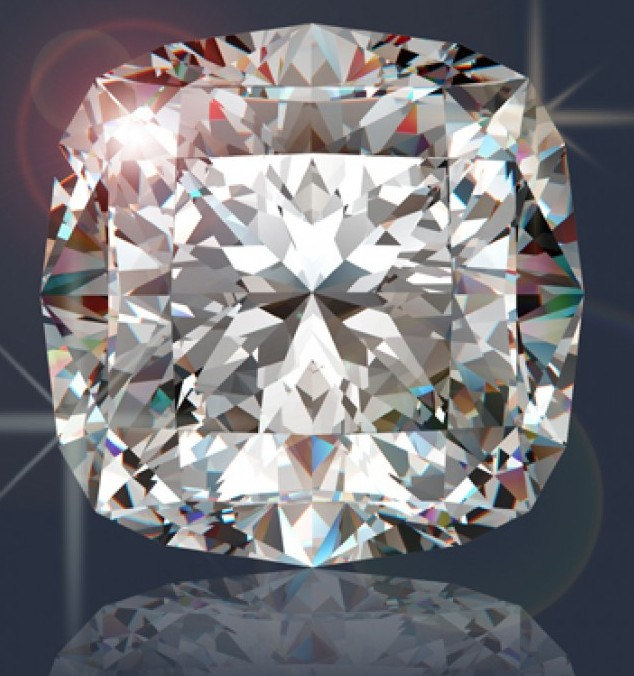1 Ct Loose Simulated Cushion Brilliant Cut Man Made Diamond From Port City Jewelers
