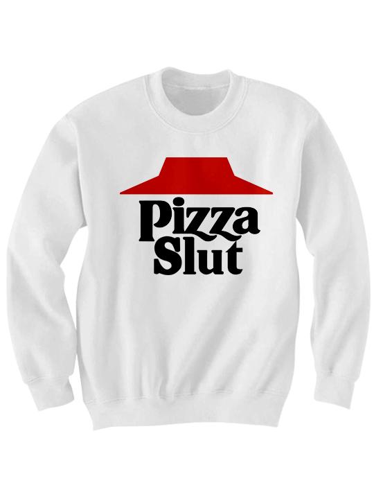 45a6f8ab3a PIZZA SLUT SWEATSHIRT PIZZA SHIRTS FOODIE T-SHIRT FOOD PORN COOL T-SHIRTS I