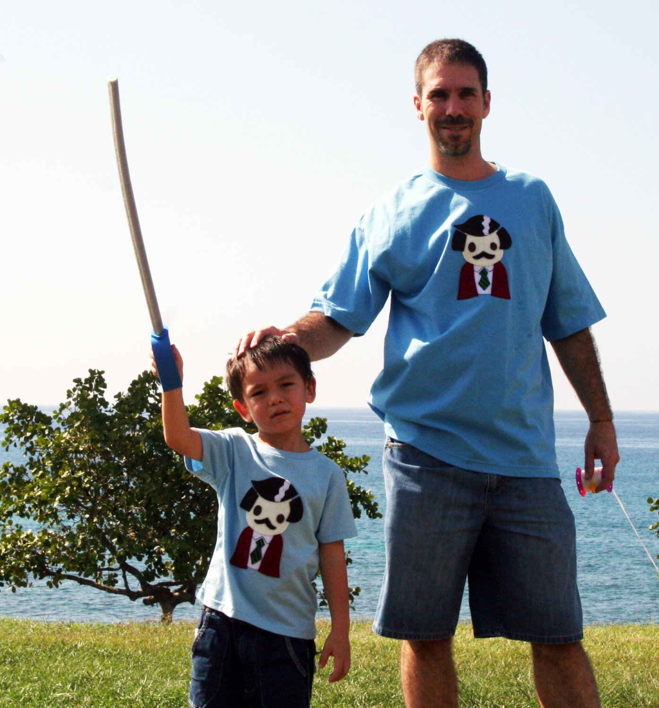 e1cbcbbf7 Stay Crafty... Burgundy Jacket Man Toddler T-Shirt [BLUE] on Storenvy