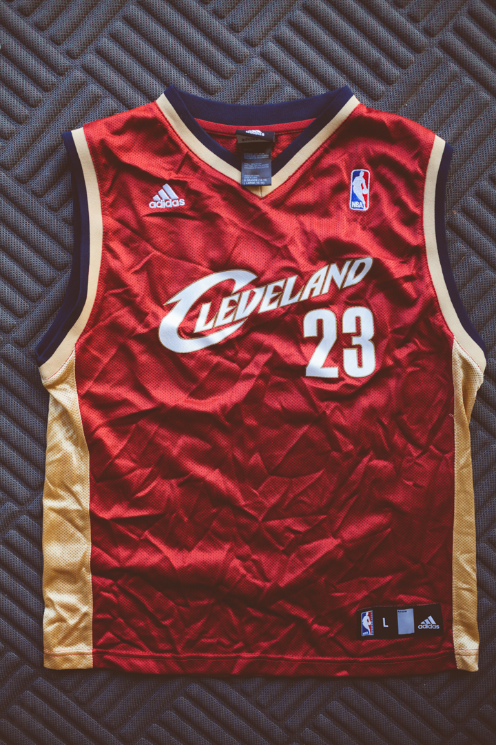 77452dc2519f Lebron James Kids Large Cavs Jersey · Kings Court Vintage · Online ...