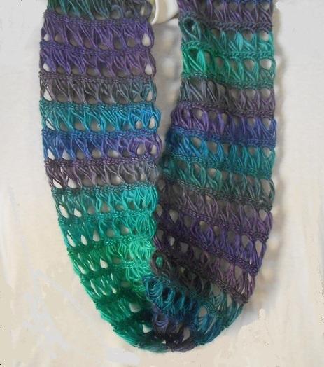 Infinity scarf Dragonfly on Storenvy