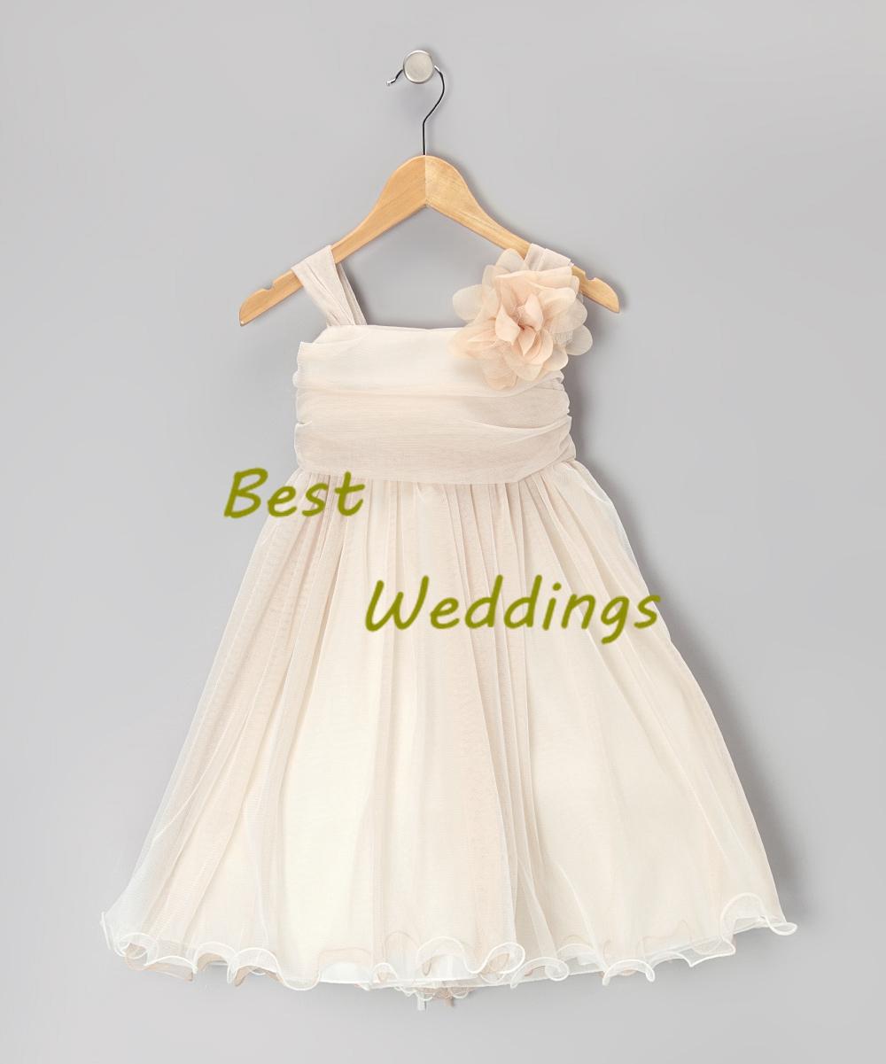 24ccba85973 champagne flower girl dress toddler dress toddler tutu dress ...