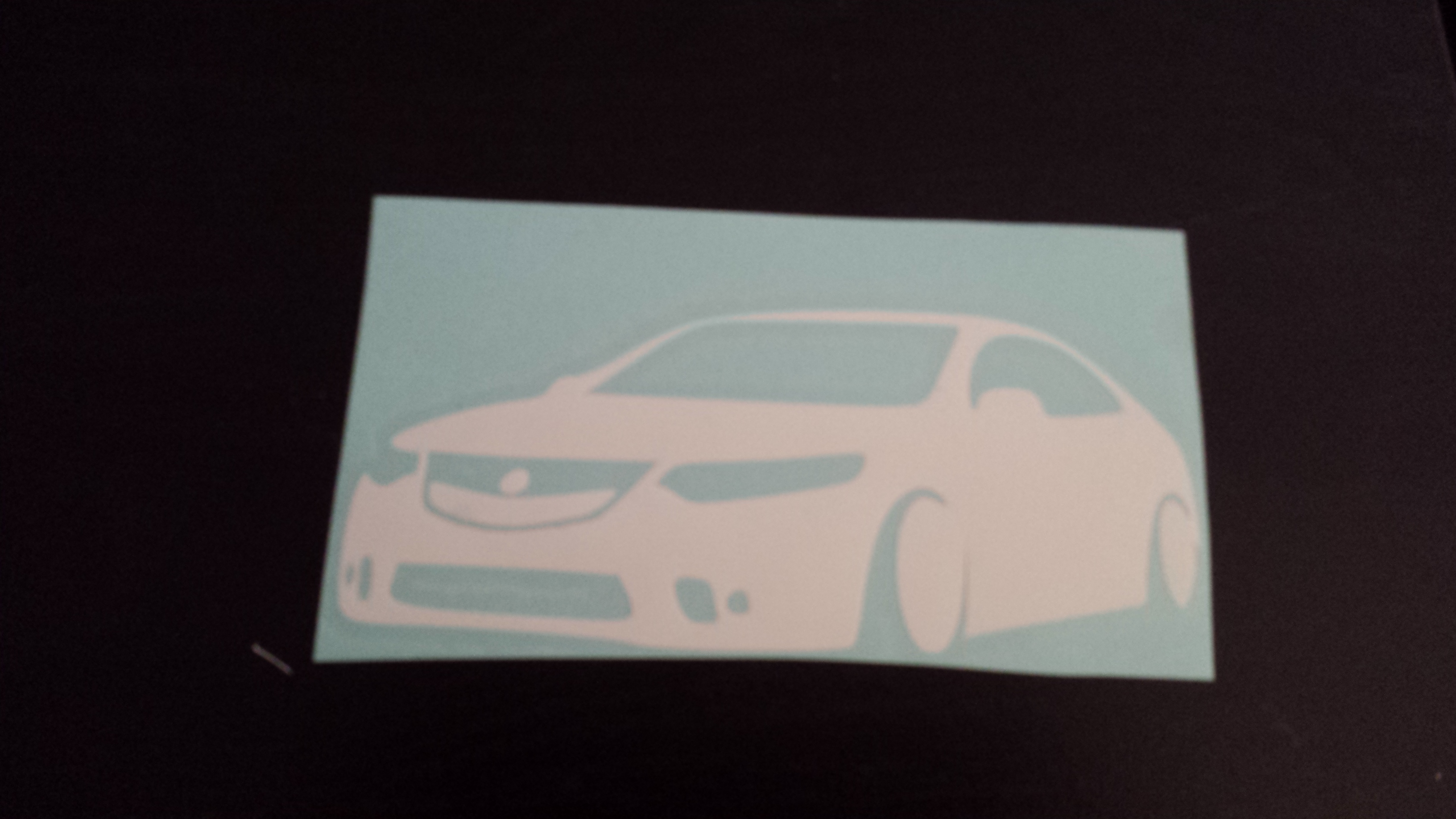 Acura TL Sticker On Storenvy - Acura tl decals