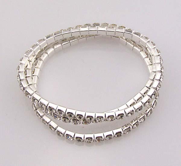 3 sets of Swarovski Artificial diamond bracelet Rhinestone jewelry ... 9278b281ac70