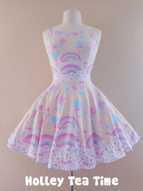 Pastel Party Yellow Skater Dress Made To Order 183 Holley