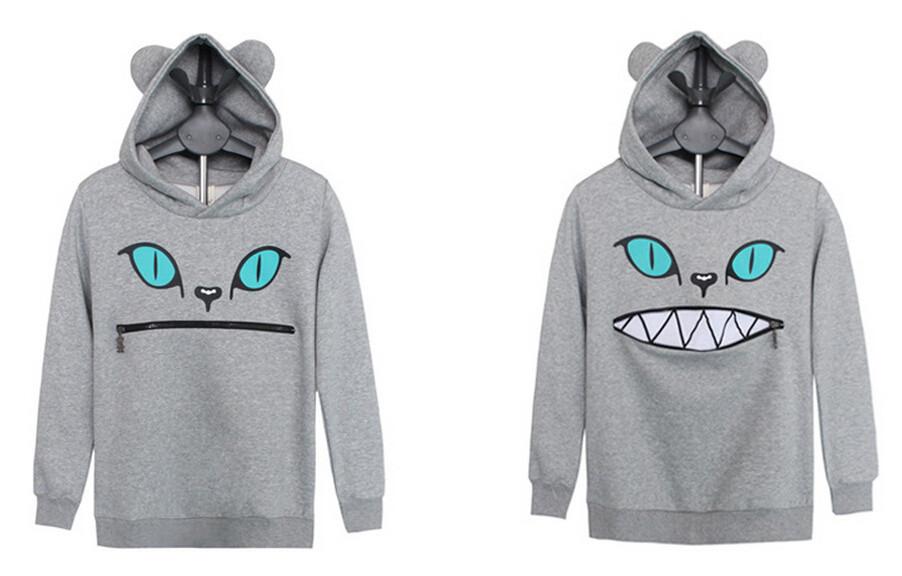 nuevo concepto e7802 46b10 Sudadera Boca Gato/Cat Mouth Hoodie WH005 sold by Kawaii Clothing