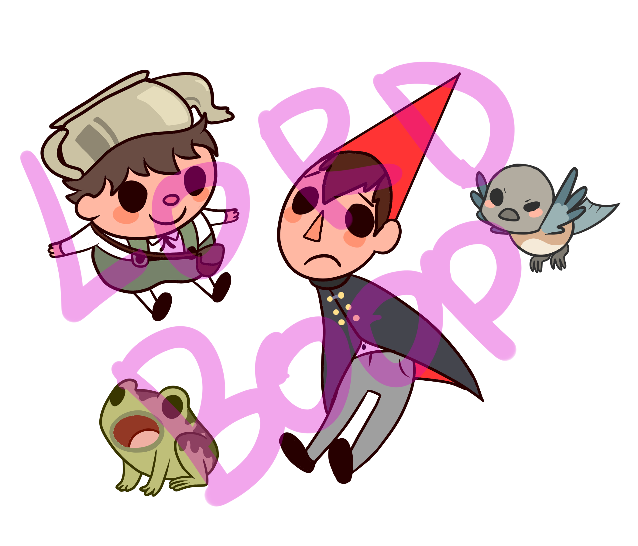 Over The Garden Wall Stickers Boop Online Store Powered By