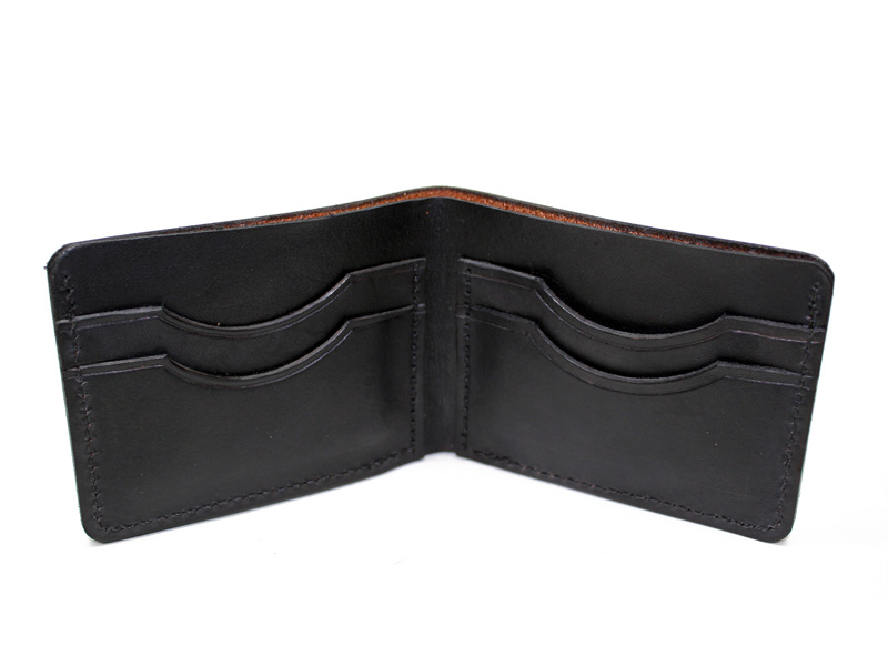 handmade leather wallets usa handmade leather wallet mens bifold made in usa on storenvy 8264