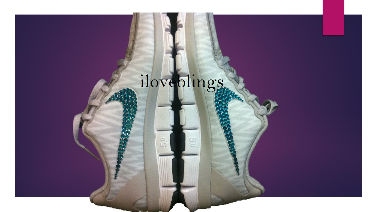 Nike Free 5.0 V4 in Natural Grey White Animal Print with Genuine Swarovski  Crystals f4f1432c6