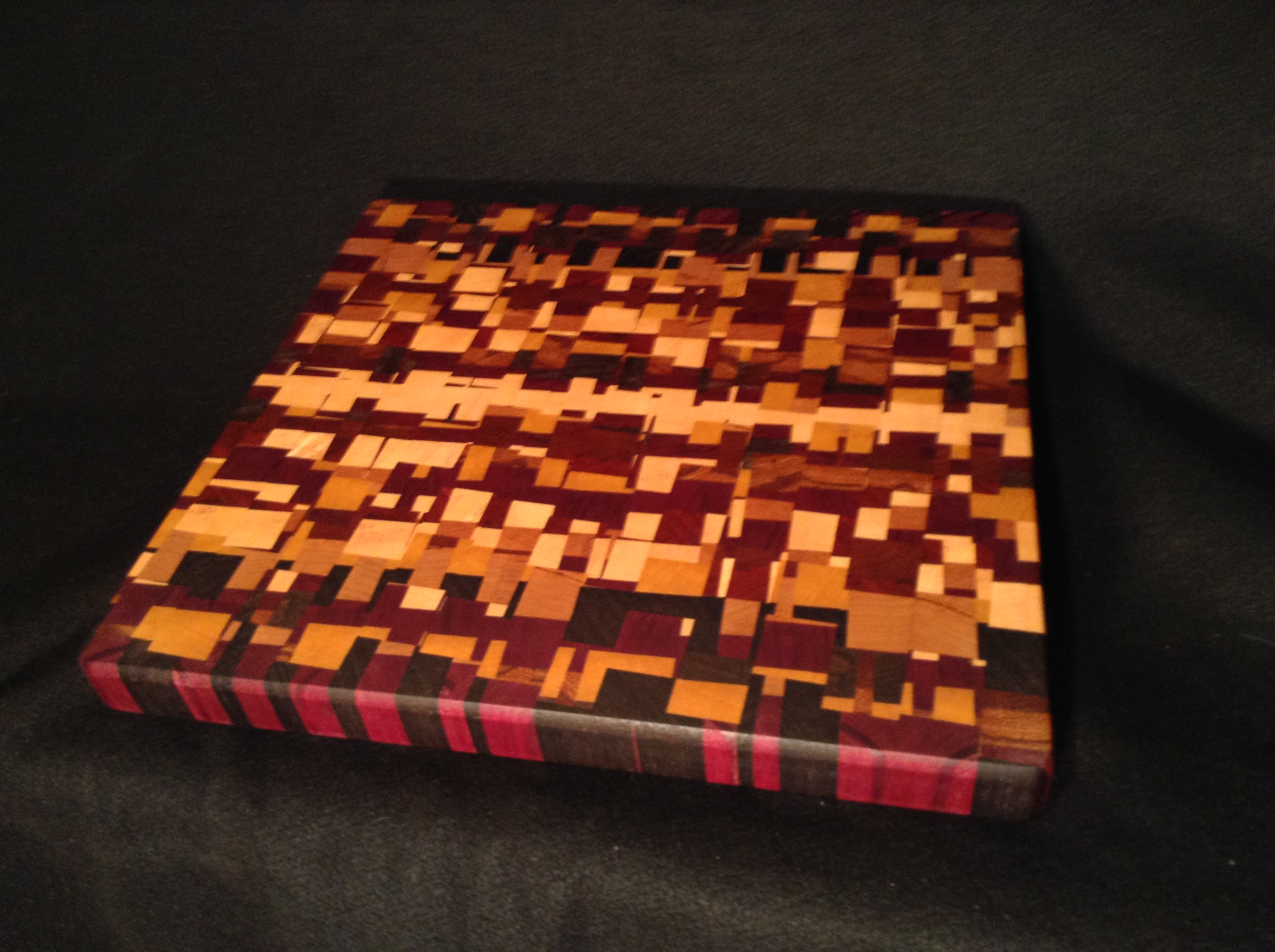 The Chaos End Grain Cutting Board On Storenvy