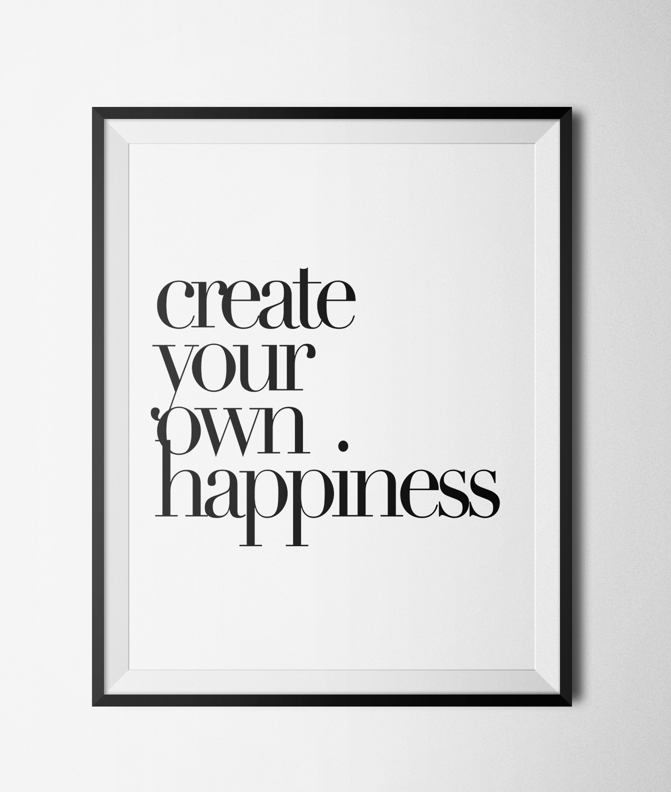 """Create Your Own Happiness Printable 8x10"""" Poster ..."""