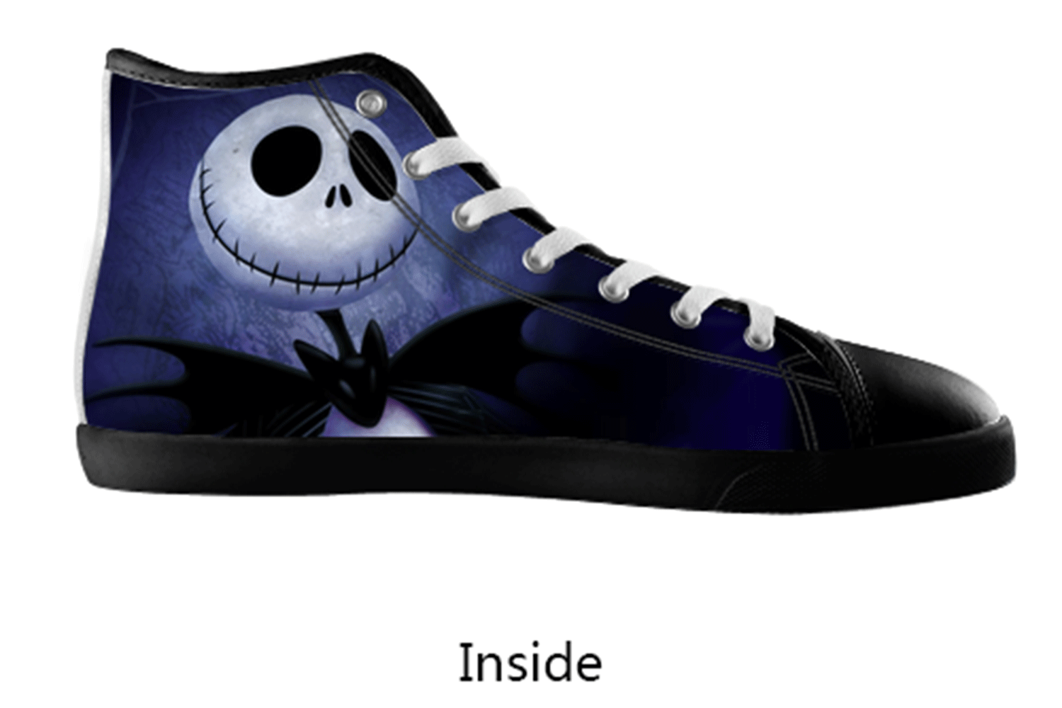 Jack Skellington Nightmare Before Christmas Custom Canvas ...