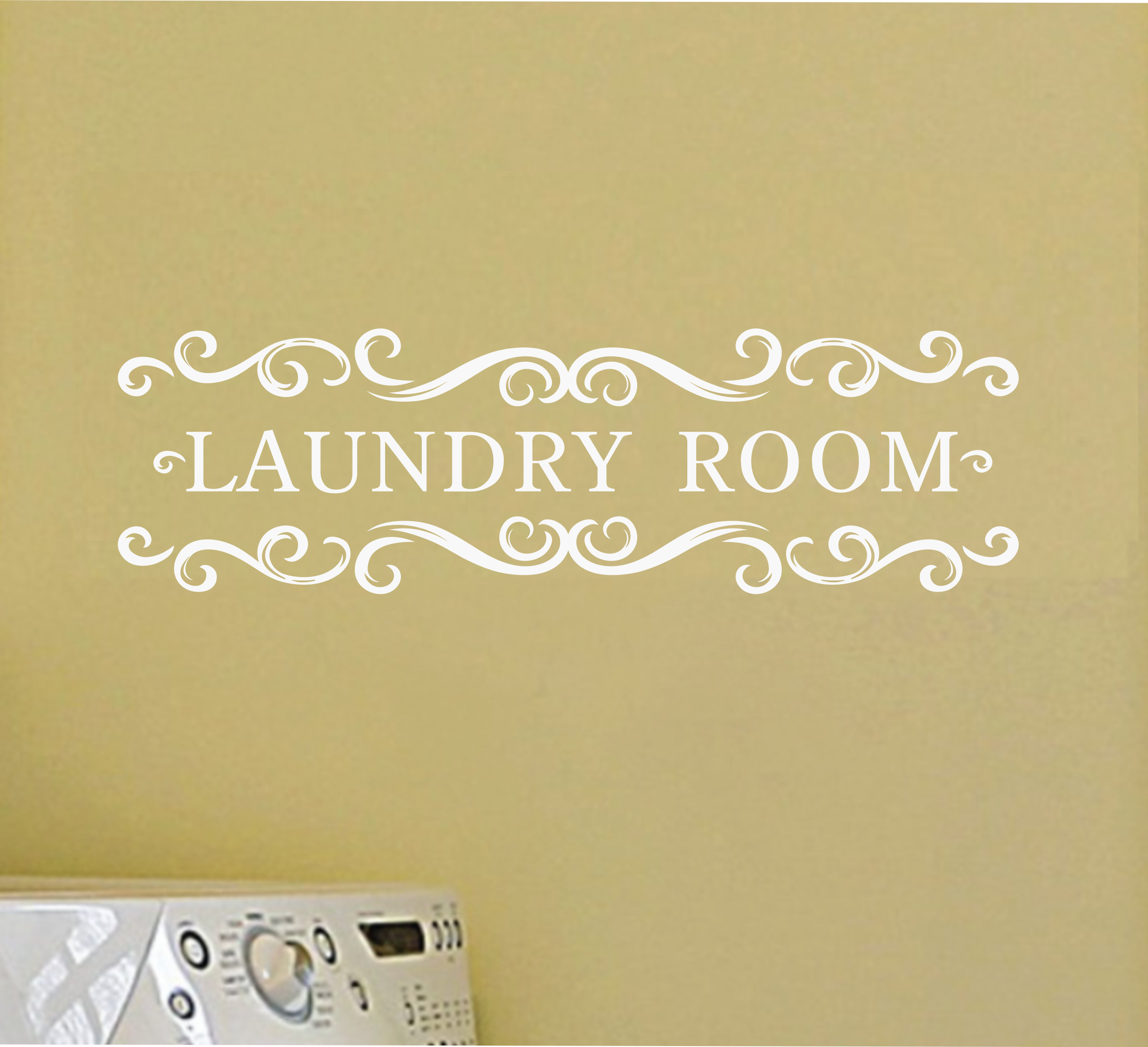 Laundry Room Wall Decal Sold By Decaleverything On Storenvy