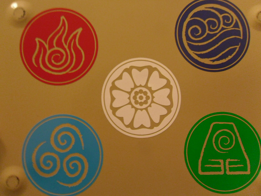 Avatar White Lotus Decal Safety Bunny S Decal Shop Online