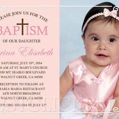tiffany blue shabby chic damask baptism christening invitation